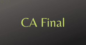 Read more about the article CA Final Referencer for Quick Revision