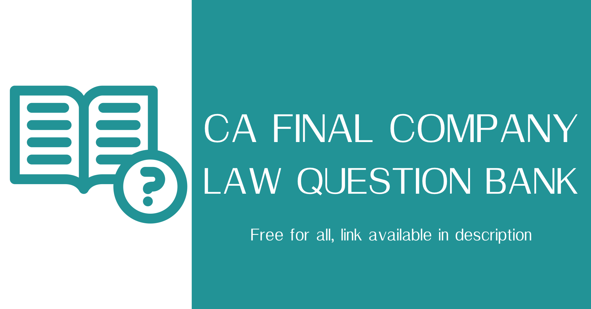 COMPANY LAW QUESTION BANK