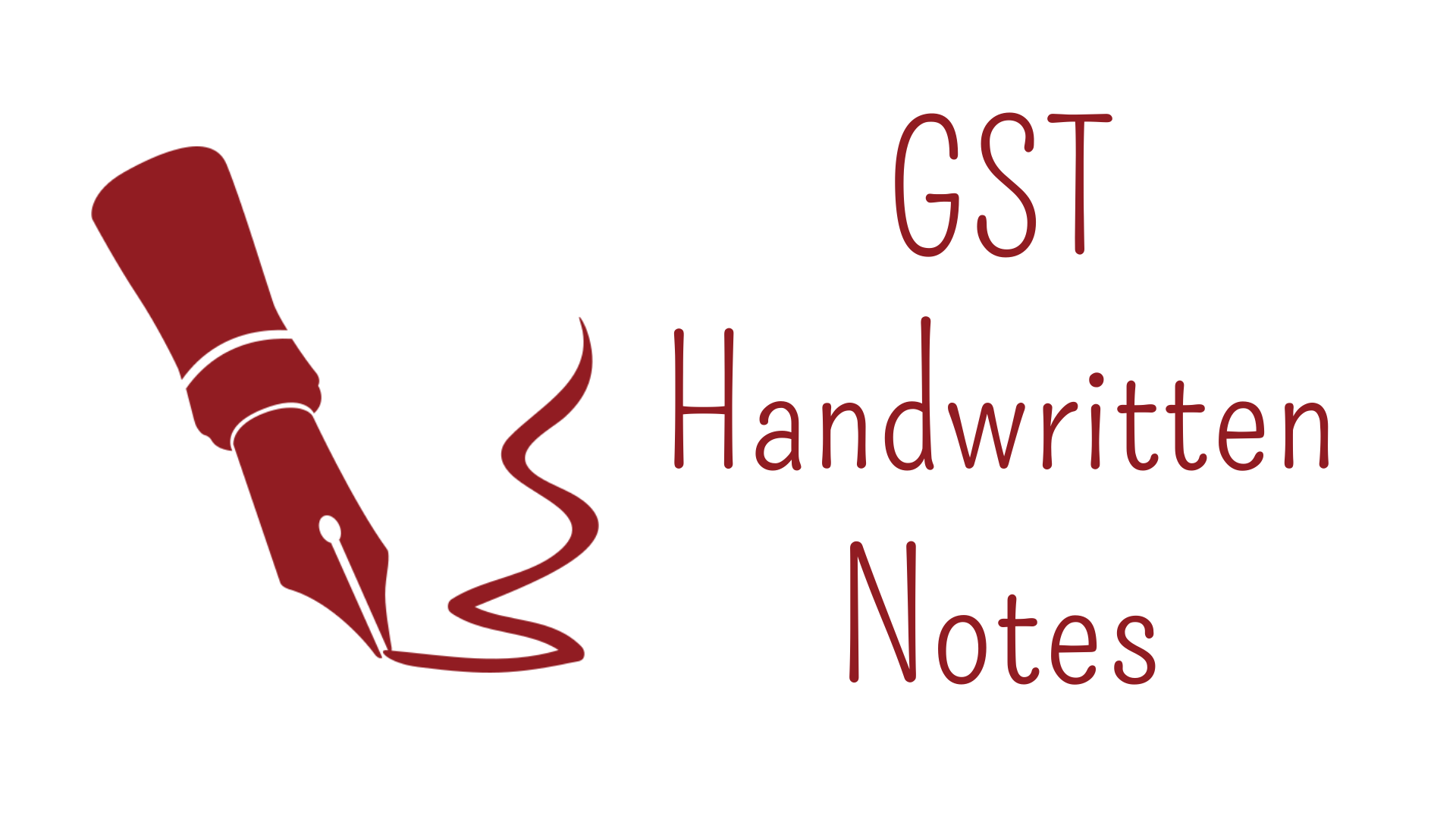 GST Handwritten Notes