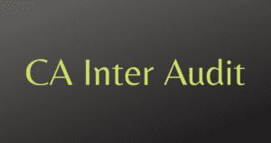 Read more about the article CA Inter SA Charts by Pankaj Garg Sir