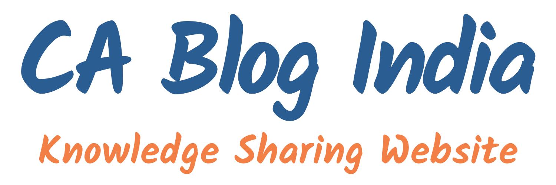 CA Blog India