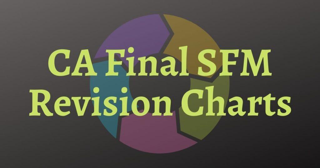 CA Final SFM Revision Charts